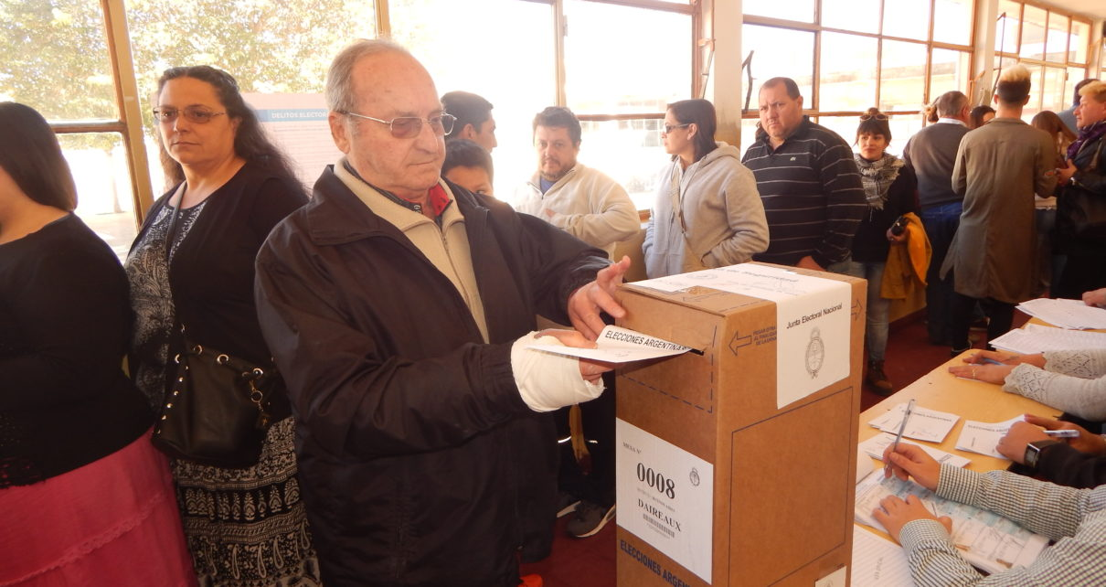 Rubén Coloccini, primer candidato a concejal por CUMPLIR, en 2017